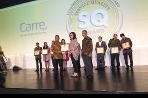 Trakindo Received Service Quality Award
